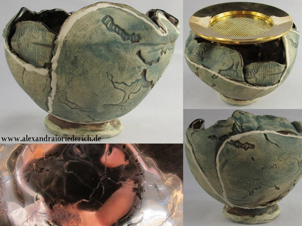 Incense burner Pot of Gold 2019